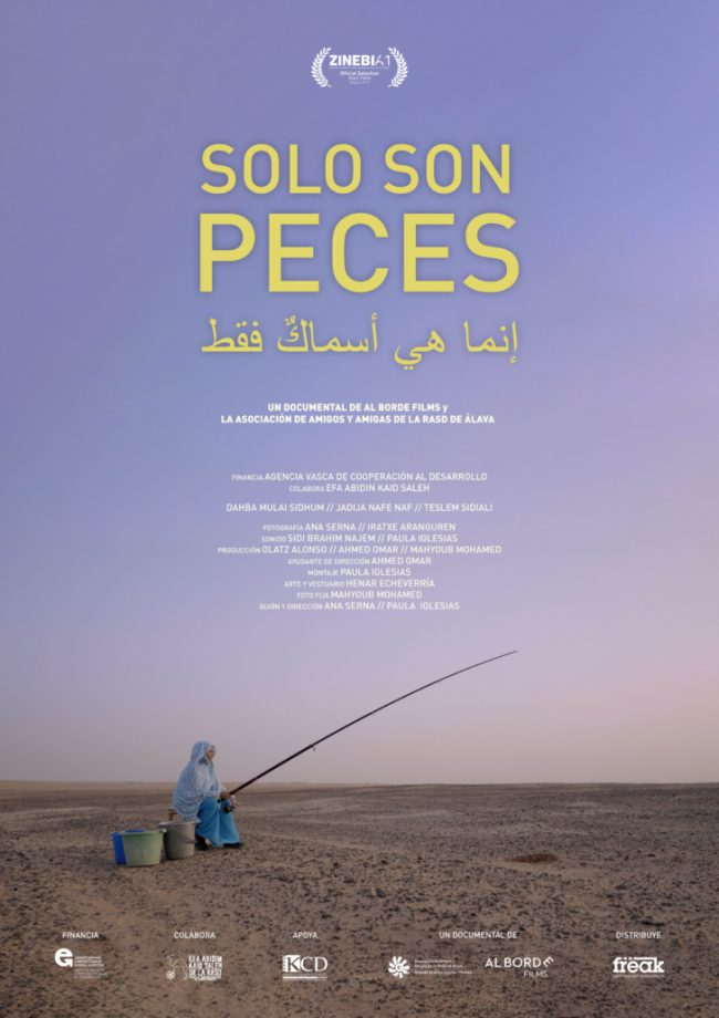"Son solo peces - al borde films - ZINE ESPAINIARRAREN SARI NAGUSIA ""SOLO SON PECES (THEY´RE JUST FISH)"", Ana Serna eta Paula Iglesias (Dok. Euskadi)"